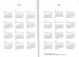 カレンダー 2015年2016年カレンダー : 2015年&2016年カレンダー